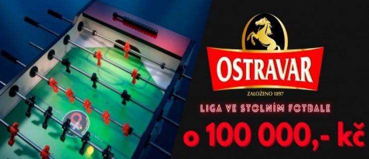 Ostravar LIGA ve stolním fotbálku o 100 000!!!