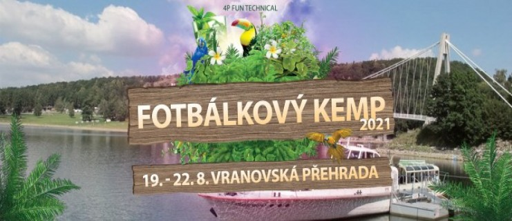 Fotbálkový KEMP 2021- Vranovská pláž