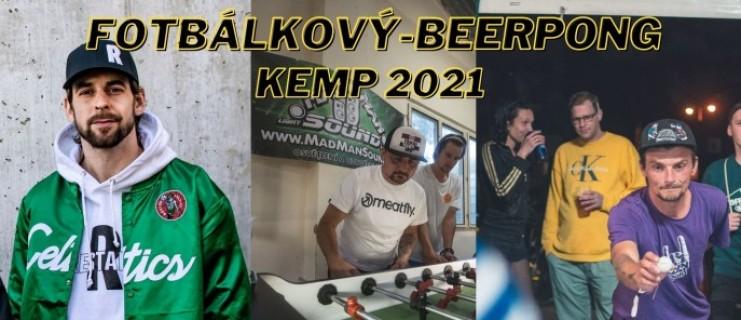 Fotbálkový KEMP 2021- Info pro soutěžící